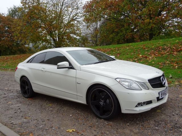 Nice 2010 60 MERCEDES-BENZ E CLASS  #mercedsbenz #white #eclass #marshams 01622 200100