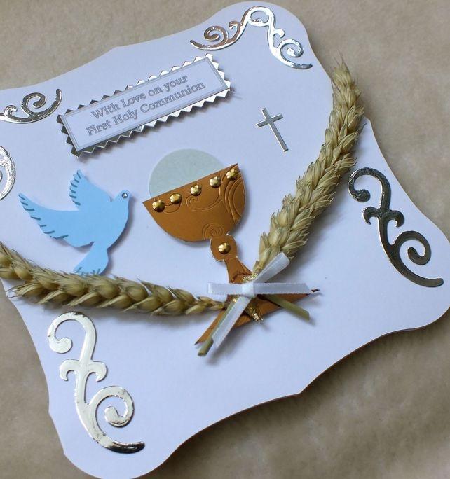 First Holy Communion Handmade Card