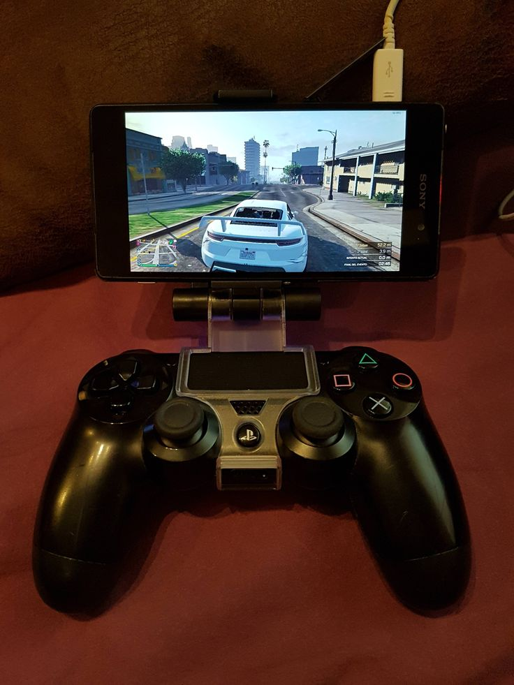 Xperia Z2 attached to a PS4 controller using Moonlight to stream GTA Online from my PC to it. #JustMasterRaceThings http://ift.tt/2EiU7qQ Check out Mystikz Gaming http://ift.tt/2tVNFmJ