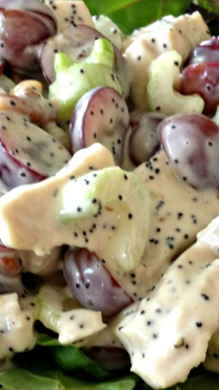 Best 25+ Chicken salad with grapes ideas only on Pinterest ...