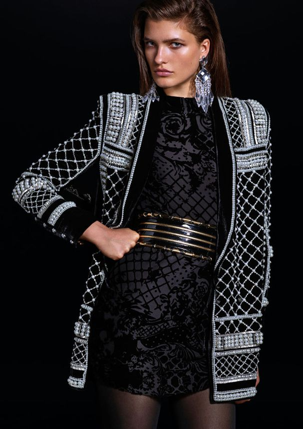 Le lookbook de la collection Balmain X H&M
