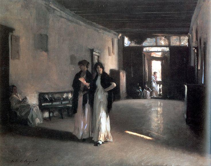 Venetian Interior c. 1880-1882. Джон Сингер Сарджент