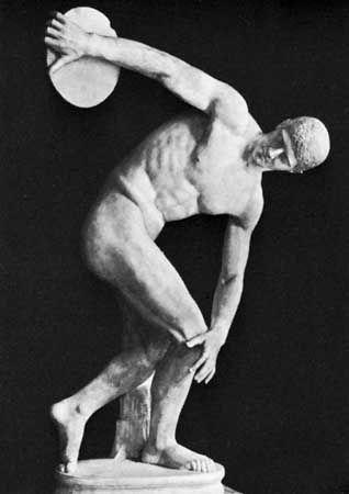 Greek Sculptor An Older Contemporary Of The Sculptors