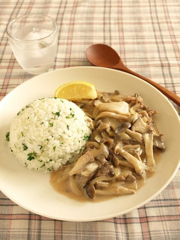 きのこのビーフストロガノフ by 田岡 美保 | レシピサイト「Nadia | ナディア」プロの料理を無料で検索