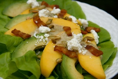 Mango, Celery And Goat Cheese Salad Recipes — Dishmaps