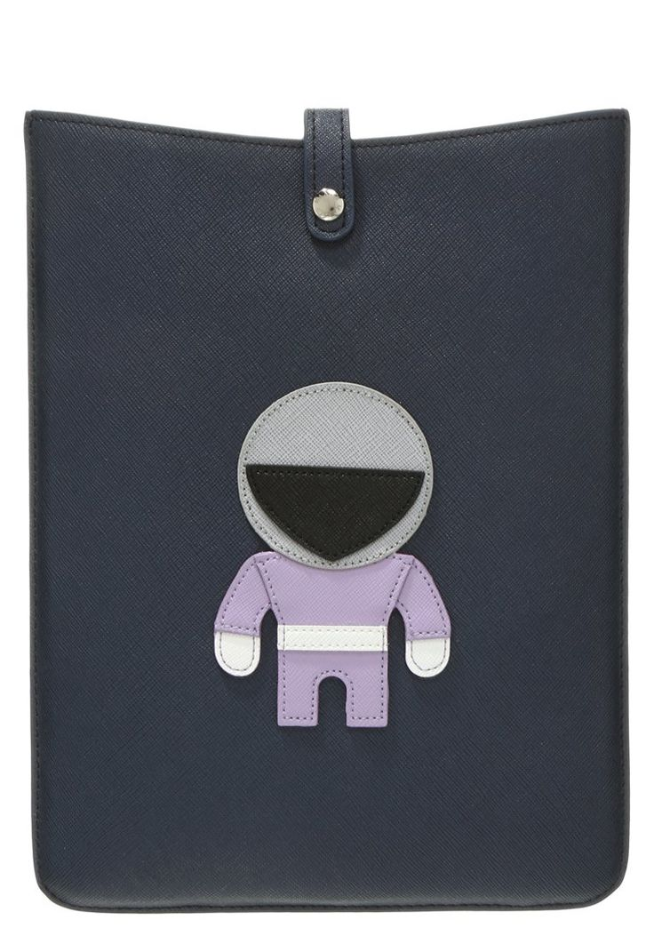 MAX&Co. ABSIDE Torba na laptopa blue notebook case