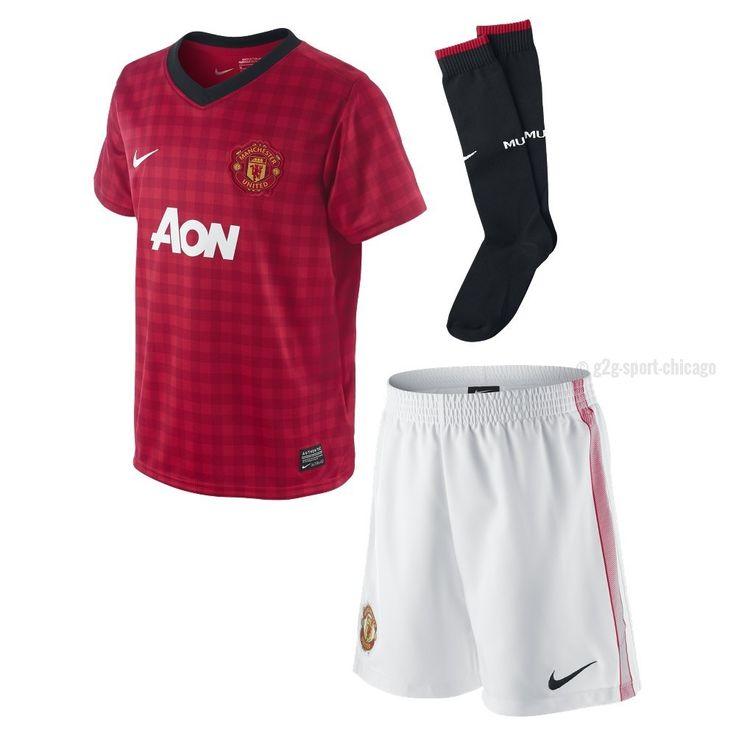 Manchester United Uniform Boys Home Mini Kit 2012-2013