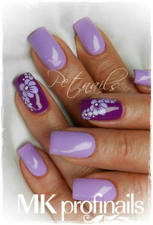 oltre 25 fantastiche idee su unghie viola su pinterest