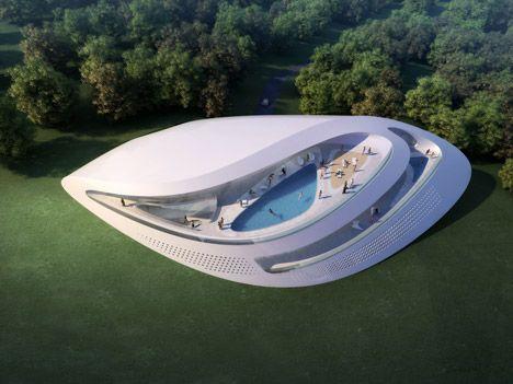 Golf and SPA Concept Villas in Dubrovnik, Croatia / Zaha Hadid