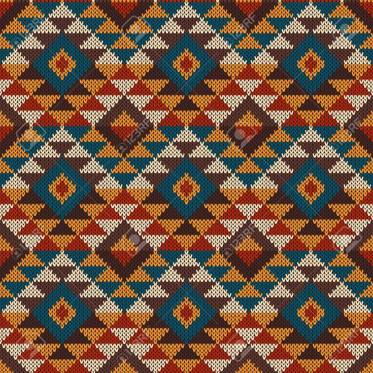 Aztec Knitting Patterns : 33 best AZTEC PATTERN images on Pinterest Aztec patterns, Pattern design an...