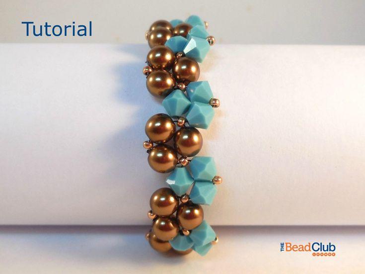 Beaded Bracelet Patterns - Right Angle Weave - Beadweaving Patterns - Bracelet Tutorials - Beading Patterns - Twisty Bracelet by TheBeadClubLounge on Etsy