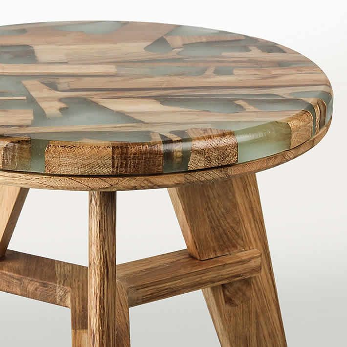 Wood Waste With Aesthetic Beauty #upcycle #furniture #wood #interior