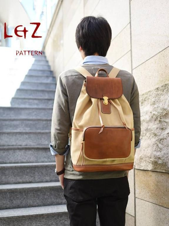 Backpack sewing pattern Z http://www.craftsy.com/pattern/sewing/accessory/bag-sewing-patterns-backpack-/137912?rceId=1437653433515~ucxjxu7o