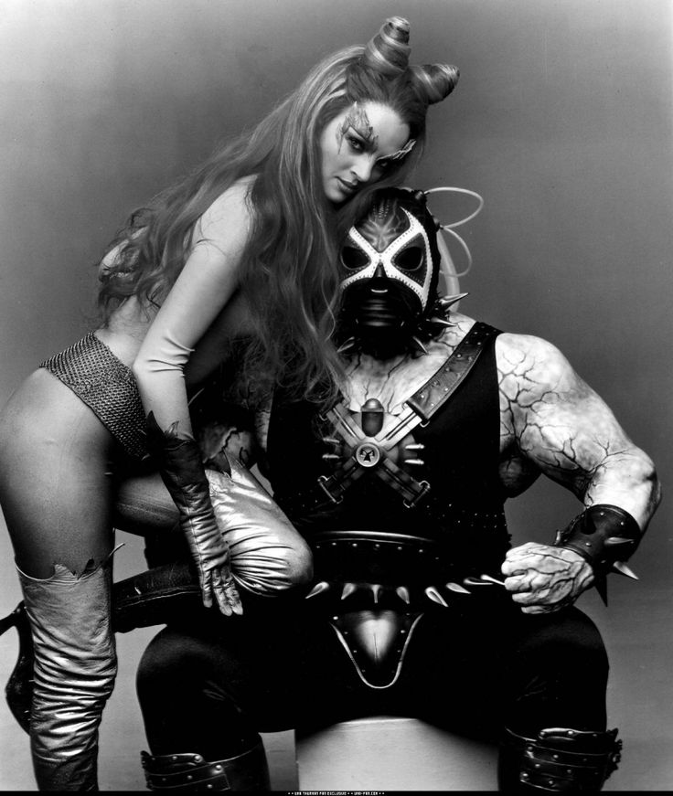 Poison Ivy & Bane - My next Halloween costume if I can catch me a man