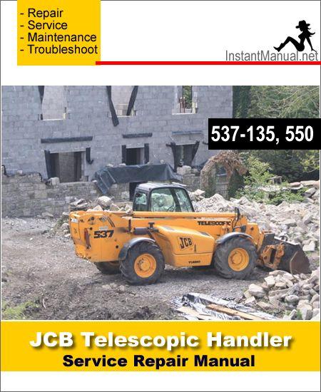 30 best jcb telescopic handler service manual pdf images on download jcb 537 135 550 telescopic handler service repair manual repair manuals fandeluxe Images