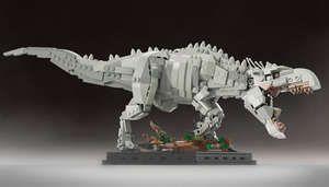 Un fan de Jurassic Park crée un set de LEGO à l'effigie du film