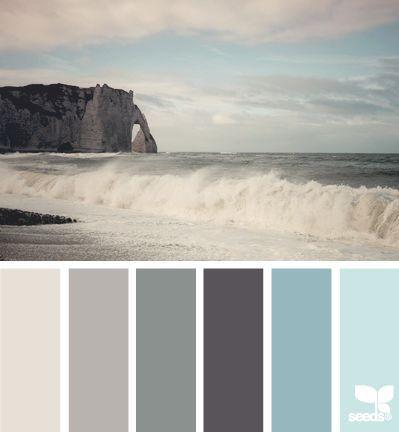 Blau - Grau - Beige