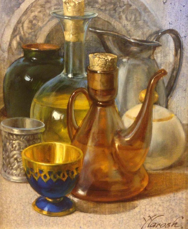 Yuri Yarosh nació en Bielorrusia en 1969. Actualmente vive y trabaja en España. Es, sin duda, también un gran artista, un maestro en el...