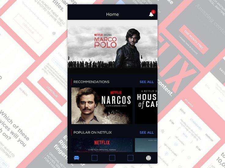 Netflix App - iOS