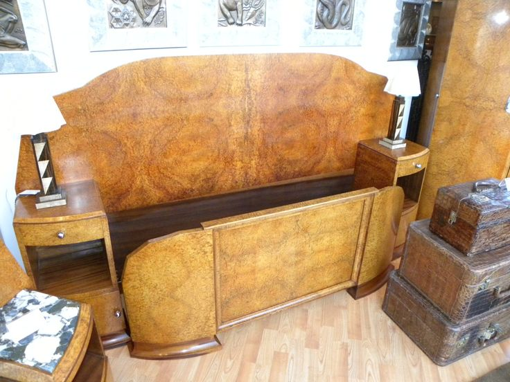 758 best images about Art Deco Bedroom Furniture on Pinterest