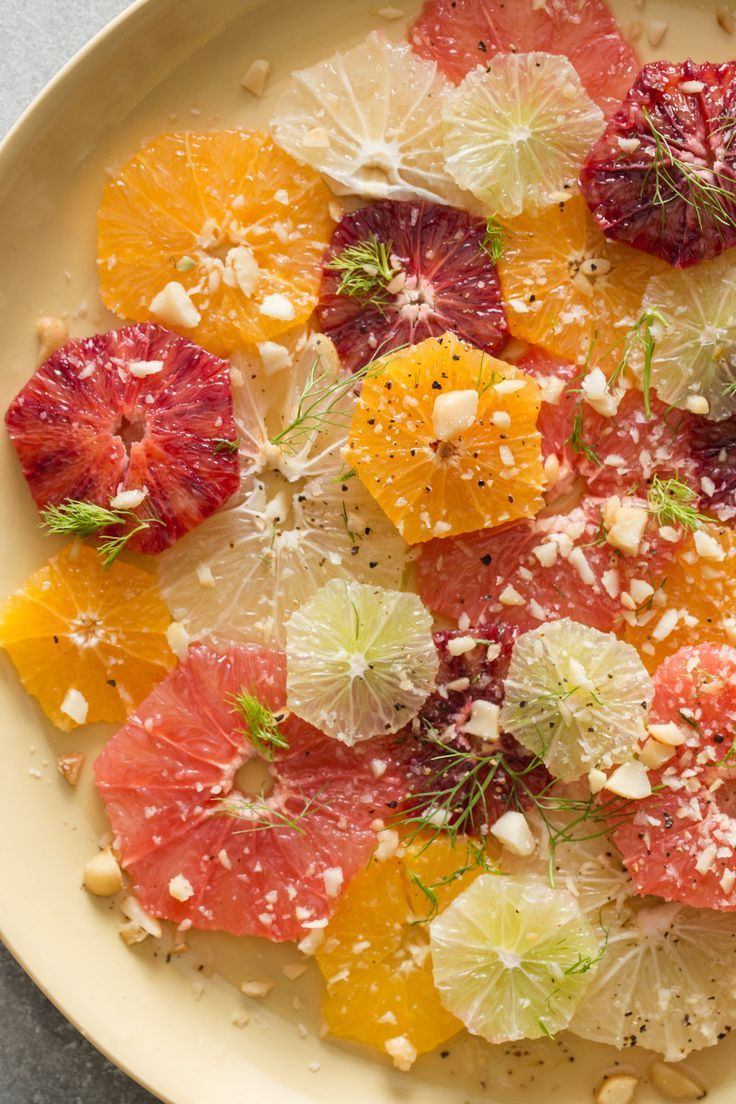 A recipe for Mixed Citrus and Fennel Salad, using beautiful winter citrus!