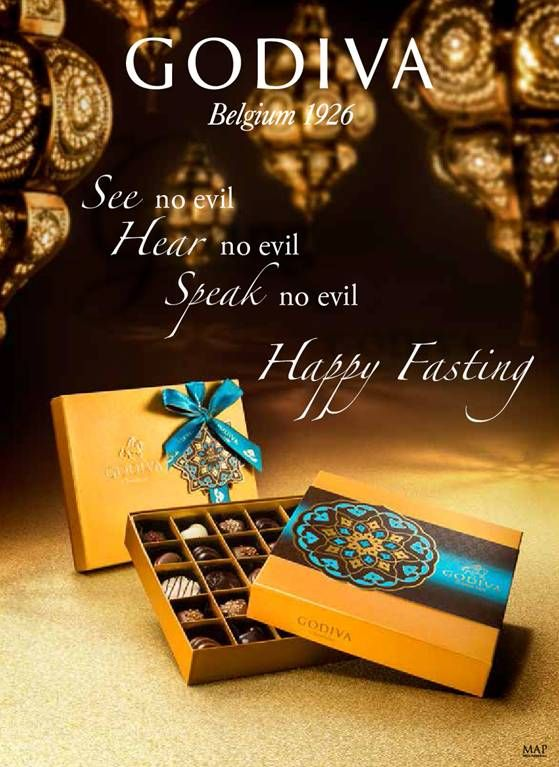 GODIVA wishes everyone Happy Fasting Month!