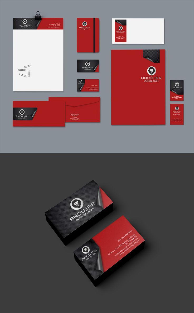 Diseño de identidad corporativa. Papelería. Eugenia Parra. http://eugeniaparra.es