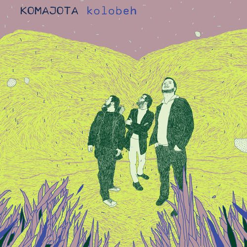 cd cover for album Kolobeh, music band: Komajota 2010