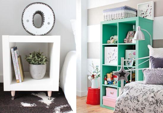 Un nouvel Ikea hack avant l'été, ça vous dit ? Cette fois, je vous propose des idées pour customiser ou détourner une étagère de la collection Expedit (récemment renommées Kallax). Ces étagères existent en plusieurs dimensions. elles peuvent trouver leur place partout, y compris dans la cuisine. Repeintes, agrémentées de portes ou de piétements, habillées…