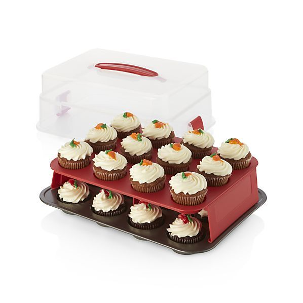 Food Network Cupcake Carrier