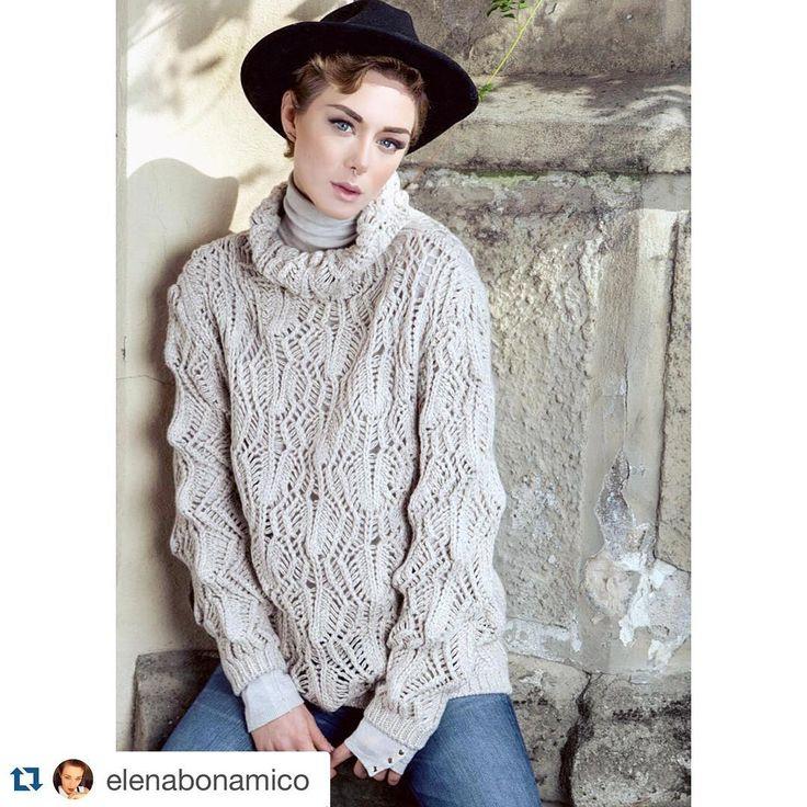 120% Adv Fall Winter '15-16 Ph: @iconize  Model: @elenabonamico  MUA and Hair: @silviamanganomua  #120percento #adv #model #shooting #120cashmere #knitwear #openwork #cashmere #ontheset #set #elenabonamico #marcoferrero #iconize  #Repost @elenabonamico with @repostapp. ・・・