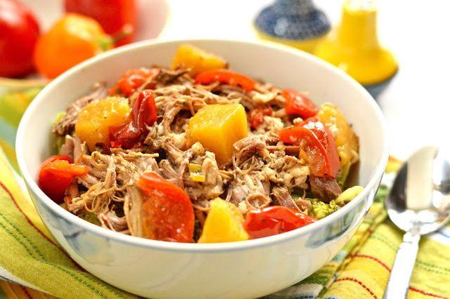 Pure and Simple Nourishment : Tropical Slow Cooker Pork Roast (SCD, GAPS, Paleo, Gluten Free)