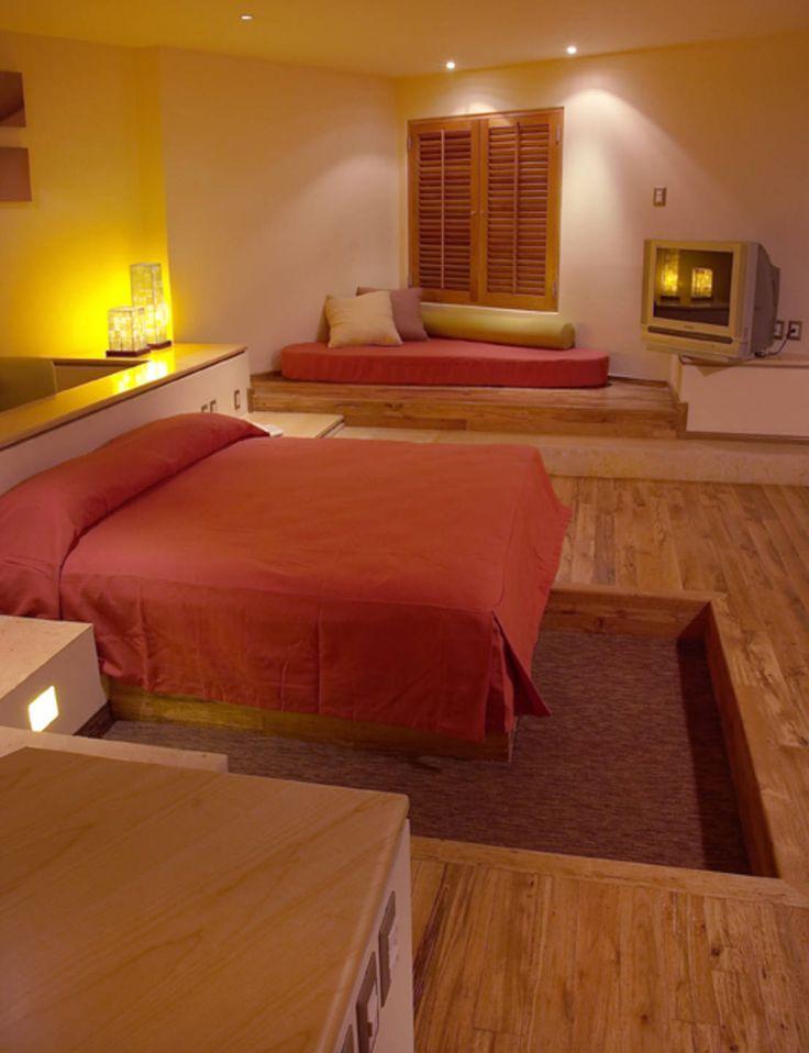 Encuentra las mejores ideas e inspiración para el hogar. Hotel Pirámides Narvarte por DIN Interiorismo | homify