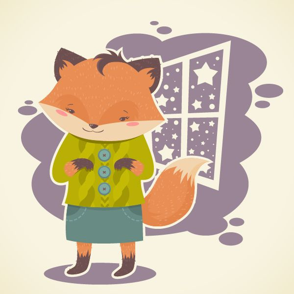 How to Create a Flat, Subtle Textured Fox in Adobe Illustrator | Vectortuts+
