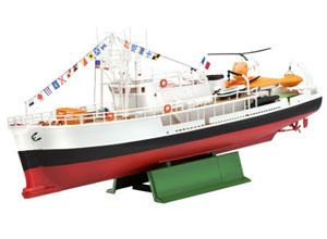 REVELL 1/125 OCEAN EXPLORATION VESSEL OF JACQUES COUSTEAU