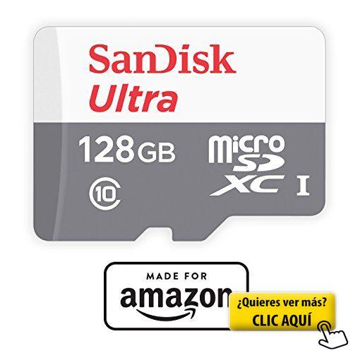 SanDisk - Tarjeta de memoria microSD de 128 GB... #usb