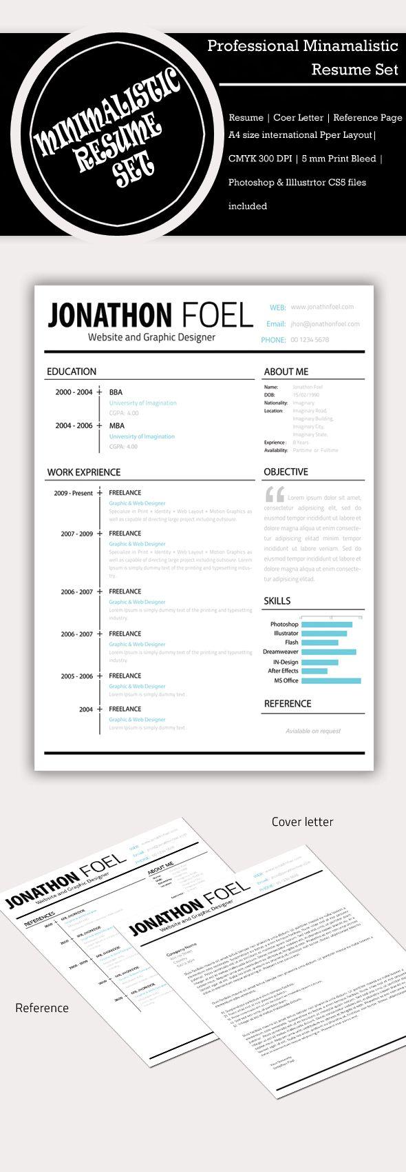 Mejores 9 imágenes de Plantillas de Curriculum Vitae | Resume ...