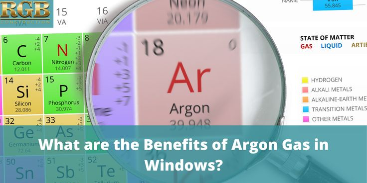 What are the benefits of argon gas in windows rgb