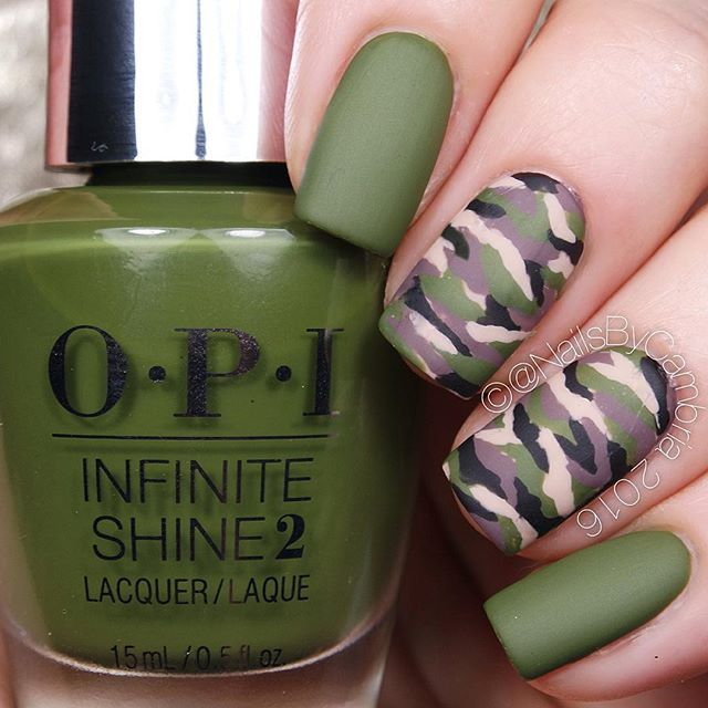 Best 25 camo nail art ideas on pinterest diy camo nails camo i honestly cant even see my middle and ring finger nails camo nails are prinsesfo Gallery