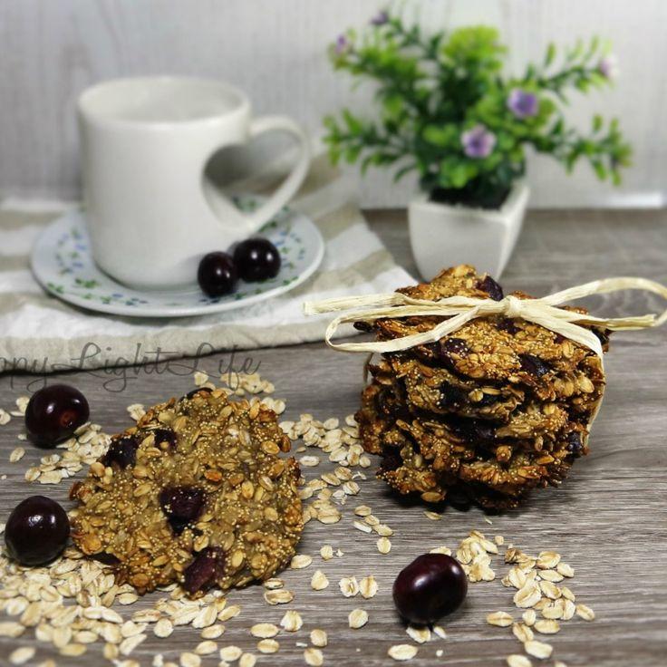 Biscotti ai cereali semplici, gustosi e super fit. (Ricetta di Maura Happylightlife)