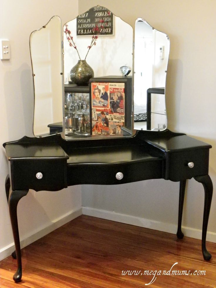Refurbished Dressing Table... I Have NEVER Seen Someone