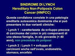 Risultati immagini per sindrome di lynch sintomi