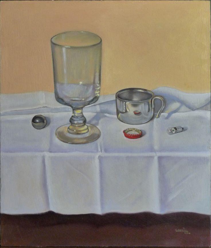 """Pintura al óleo """"La copa"""""""