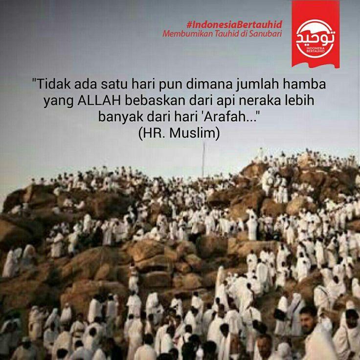 Istimewanya hari Arafah