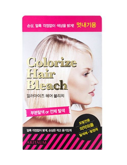 [Amore Pacific] ARITAUM Hair Bleaching Dye Colorize Hair Bleach Lightener #Aritaum