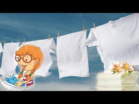 РЕАЛЬНО РАБОТАЮЩИЙ МЕТОД. Как сделать белье белоснежным. Цветное и Белое БЕЛЬЕ. - YouTube