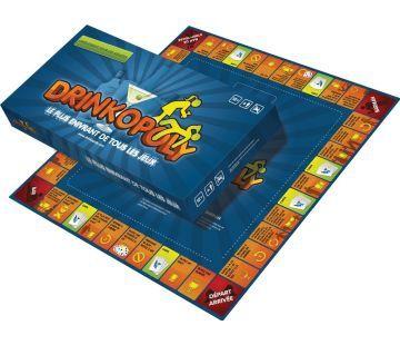 Drinkopoly, le plus enivrant de tous les jeux, est un jeu de société pour adultes. Avec ce fameux jeu à boire et à gages, vous allez jongler gaiement avec les contraintes et les conventions sociales pour vous amuser comme des grands !