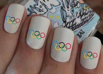 Uñas Olimpicas!! Dale color a tu vida deportiva!! @anatonia @patygallardo @elcolorcomunica