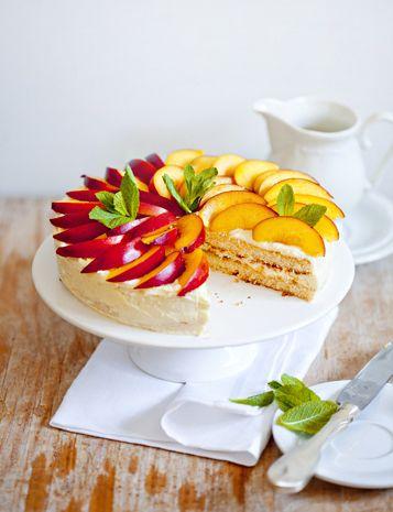 Peach pie: Nectarine Cakes, Desserts, Peaches Cakes, Cuisine Cakes Pies Tarts, Peaches Pies, Fruit Cakes, Cakes ️, Abricot Cakes, Summer Recipes