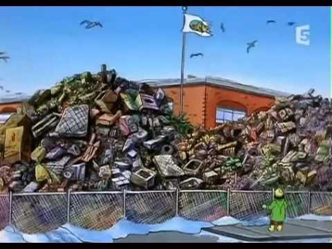 """Film: Bus magique, le recyclage, """"Une nouvelle vie"""""""